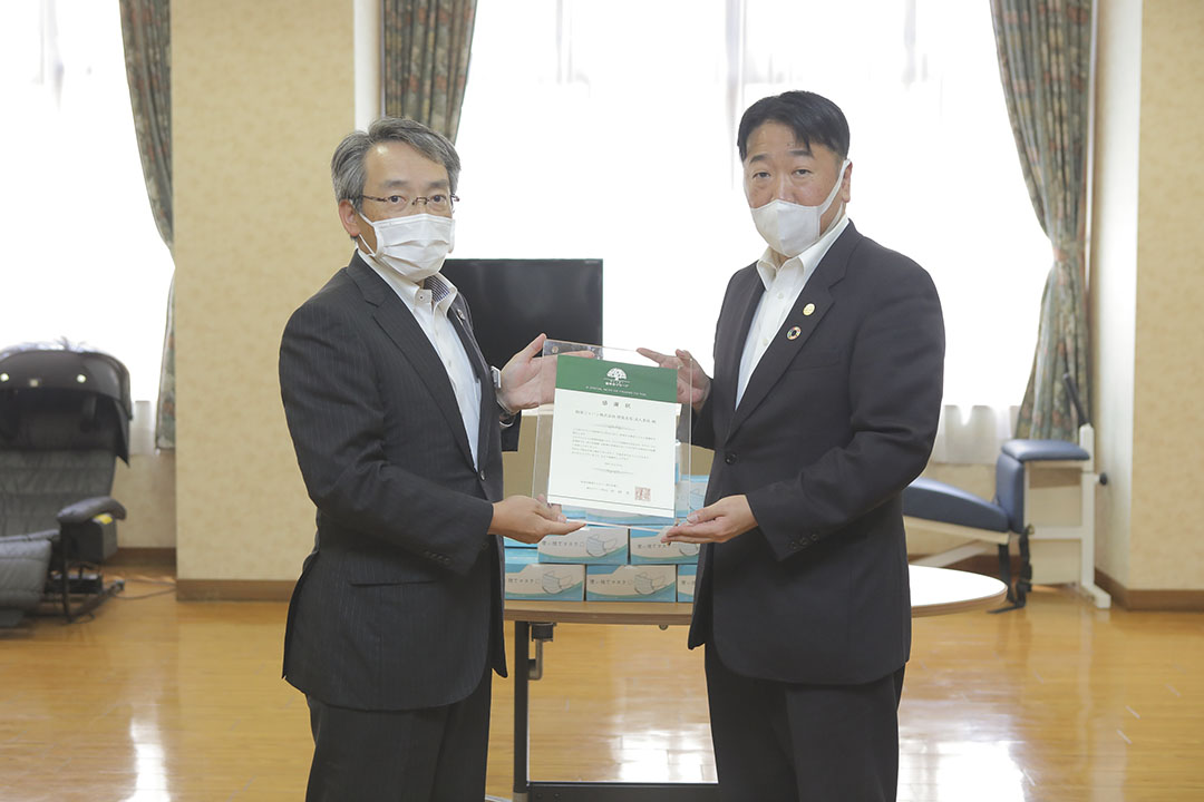 損害保険ジャパン株式会社徳島支店長 高丘泰則様