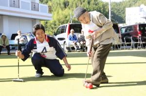 100歳ゲートボーラー:舘ヲトメさん