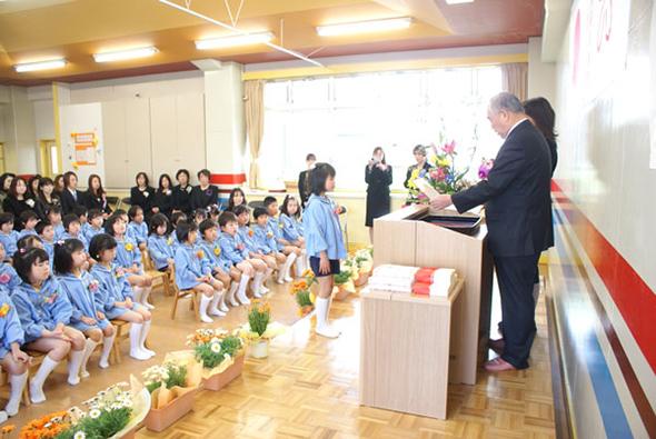 健祥会グループ保育園3園卒園式