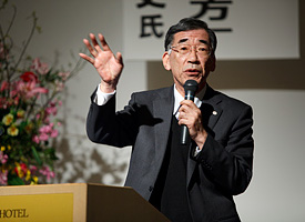 全国老人福祉施設協議会 介護保険事業経営委員会 委員長 桝田和平氏