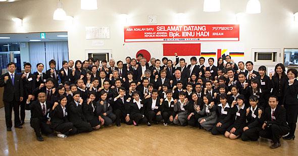 イブヌ・ハディ在大阪インドネシア総領事を迎えて